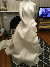 MARTINE LIANA Silk wedding dress , size UK 14 / BNWT
