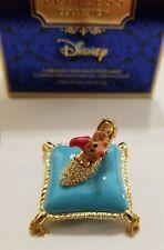 """Estee Lauder & Disney Solid Perfume Compact Cinderella """"A Dream is a Wish"""" NIBB"""