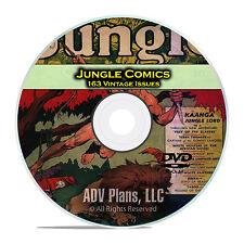 Jungle Comics, Fiction House, Complete Run All Isssues Golden Age Comics DVD C79