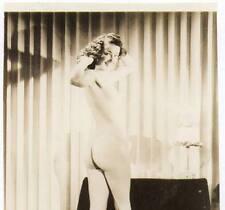 Akt Vintage Foto - leicht bekleidete Frau aus den 1950er/60er Jahren(111) /S200