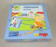 HABA 5693 Meine erste Spielwelt Stadt Fädelspiel Polizei