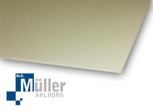 Gfk-Platte, Green, Ri 40203 (500 x 250 X 6 MM) EP Gc 202 Hgw 2372.1