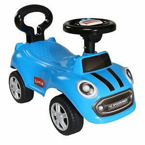 Baby Ride On Car for Kids,Battery Operated Horn,Music&Light 12 Months Plus(Blue)