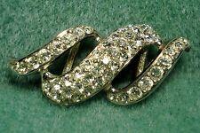 Vintage Premier Designs Crystal Rhinestone Slider Pendant For Necklace Chain SP
