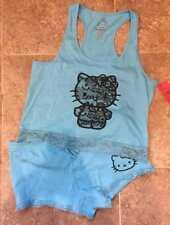 Hello Kitty ~ Top & Shorts Pajama Set ~ Ladies Women's XL  ~ NEW