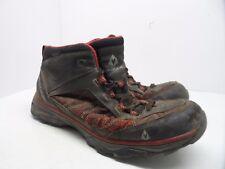 Vasque Men's Monolith Low Athletic Hiking Shoe Black/Red Size 11M