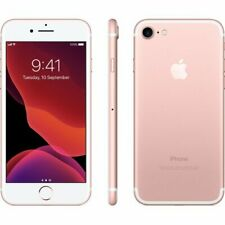 Unlocked Apple iPhone 7 32GB Rose Gold Smartphone- New and Boxed- No Reserve!