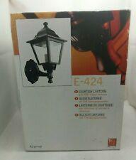 BNIB Outdoor Exterior Courtesy Light Lantern With Pir 230v 60W for Porch etc