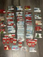 Huge Lot Of 211 Starbucks Holiday Christmas Gift Cards No Value New Used