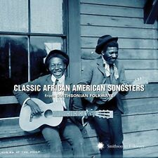 Classic African American Songsters CD From Smithsonian Folkways by Various 2014