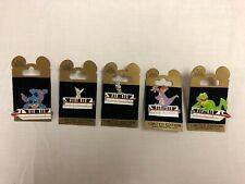 Disney- Gold Card Collection - Red Monorail SET OF 5 LE 1500 PINS