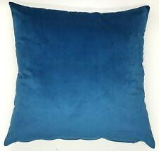 Handmade Plain Teal Soft Velvet  Home Decor Cushion Cover 45x45 New