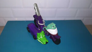 19.11.10.4 Figurine moto side car Hasbro 1995 THE MASK The Mask Cycle kenner