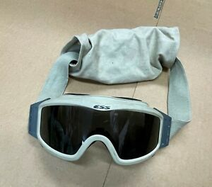 ESS NVG Profile Light green Ballistic Tactical Goggles With smoke lense & sleeve