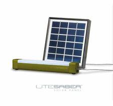Saber Litesaber Bivvy Light + Rechargeable Solar Panel Powerpack RED LED Option