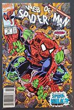 New listing Web of Spider-Man # 70 Newsstand 1st Spidey-Hulk Marvel Comics 1990
