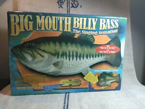 1998 Vintage Big Mouth Billy Bass The Singing Sensation New  Original Box