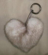 Key Ring Mink Heart Color Ice
