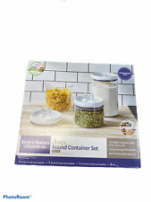 3 Pack container set