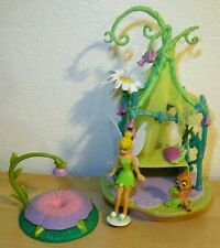 2006 Disney Fairies Tinker Bell Canopy Bed Play Set Playmates