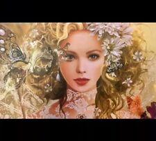 MTG Playmat Artists Of Magic DEIRDRE THE JEWEL OF DAKKADIA w/art by NENE THOMAS