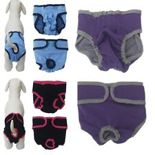 Female Dog Diapers Large Pet Sanitary Pants Cotton Nappies For Season Heat XS-L