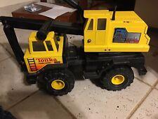 Vintage Tonka Mighty Excavator Turbo Diesel