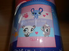 Plaid - Bout de lit Littlest Pet Shop