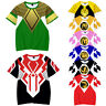 Mighty Morphin Power Rangers 3D T-Shirt Adults Kids Casual Short Sleeve Tee