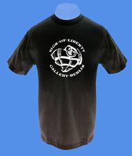 Männer Herren T-Shirt Sign of Liberty Berlin Herzgranate move2be M schwar