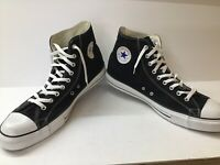 Chuck Taylor Converse All Star High Top Black Sneakers - Men's Size 16