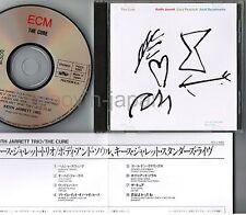 KEITH JARRETT The Cure JAPAN CD POCJ-1085 Silver, NOT 24k w/PS BOOKLET+INSERT