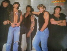 Izzy Stradlin or Bon Jovi 1990's Double Page Poster to Frame? from Kerrang