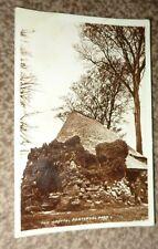 Pontypool Park 1957, THE GROTTO  Wales, Sepia Real Photo Vintage Postcard.BB