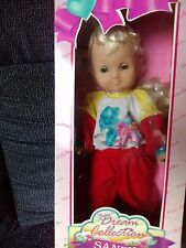 """VINTAGE GIGO Dream Collection 17"""" Doll ** SANDY ** IN BOX My Little Pony outfit"""