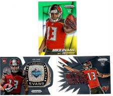 Mike Evans 3-Card Lot SP RC Variation 2 Parallel !!! Die-Cut Inserts Non-Auto