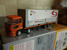 N Scale Tomytec Truck Collection 9 #2 Orange Silver