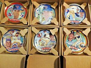 Nolan Ryan Collector Plates Collection 6 plates in Original Boxes (No Certs)