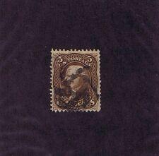 SC# 76 USED 5 CENT JEFFERSON, 1863, FANCY PINWHEEL CANCEL, 2018 PF CERT LOOK
