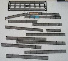 N-gauge Plastic Railings 14 lengths Black, New & Used