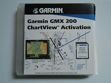 GARMIN CHARTVIEW ACTIVATION FOR GMX200 (GARMIN GMX-200 DATA CARD ACTIVATION)