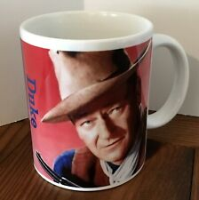 "Coffee Mug 11oz John Wayne ""I'm responsible only for what I say"", Western White"