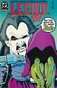 L.E.G.I.O.N. '89 (DC, 1989) #4 NM  Lobo