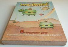 Atari xl: Moon patrol-Avalon Hill game 1982