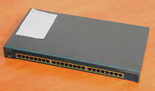 Cisco WS-C2950-24 24-Port 10/100 Switch w/ rack kits CCNA CCNP 6MthWty TaxInv
