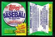 1981 Topps Baseball Wax Pack (x1) Fresh from Original Box!
