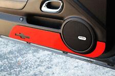2010-2014 Chevrolet Camaro Billet Door Kick Plate Bowtie Logo Orange