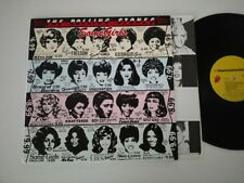 ROLLING STONES LP SOME GIRLS 1978 FC40449 CENSORED 5TH VERSION YELLOW PALE BLUE