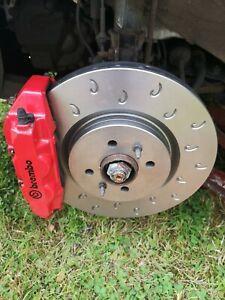 Abarth 596 Competizione Tributo Biposto Front Brake Discs 180 BHP 305mm