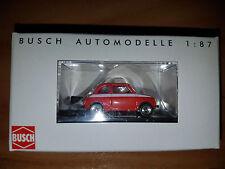 Fiat 500 Sport Rossa - Scala HO 1:87 - Busch  - Nuova